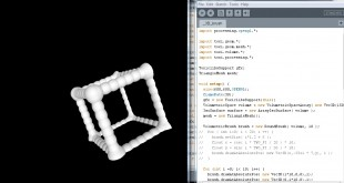 3Dcube made using Toxiclibs