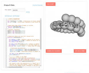 Shapejs preview screenshot